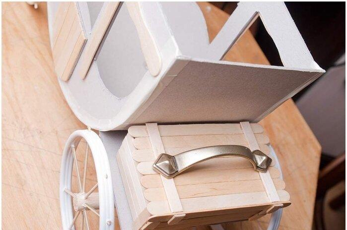 Как сделать карету из картона своими руками