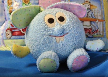 Детская подушка Смешарик: выкройка и мастер-класс