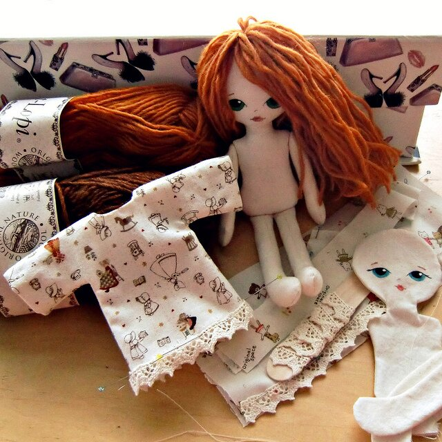 Мастер класс куклы из ткани своими руками