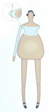 Tilda Homemade angel - выкройка и ход работы